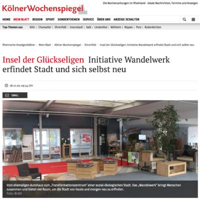 WandelWerk Kölner Wochenspiegel Ehrenfeld