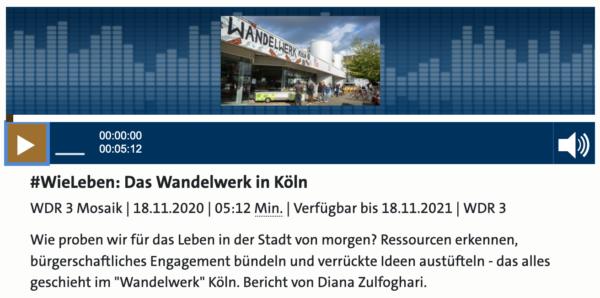 WDR 1 Live WandelWerk